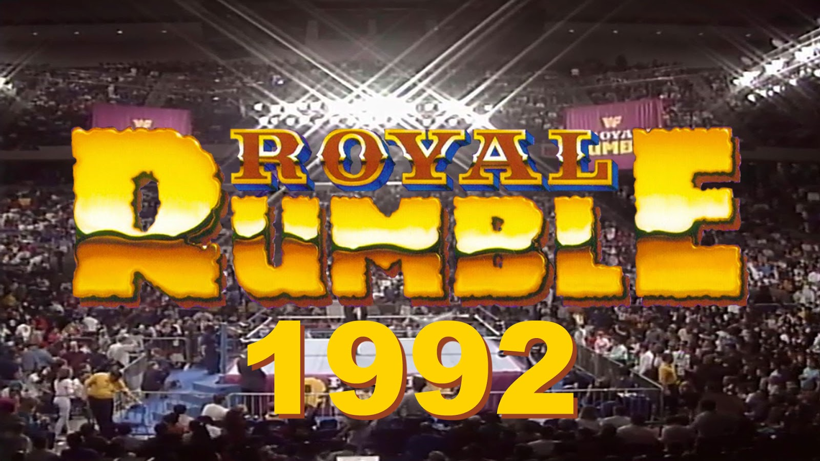 WWE Royal Rumble 1992 Match commentary Podcast
