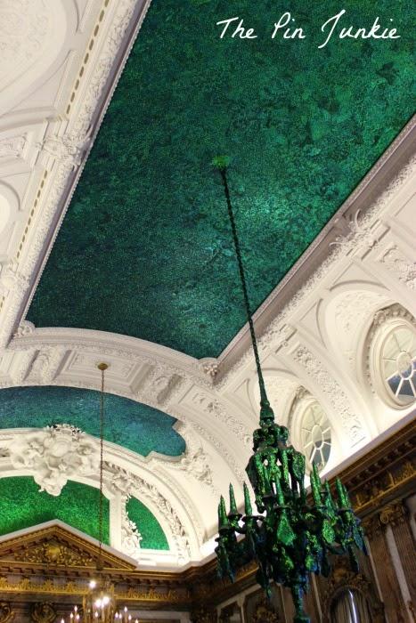 Royal Palace Beetle Room Brussels Belgium