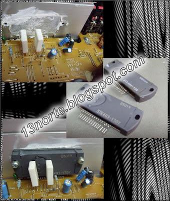 Sustitución de STK403-130 por un STK403-130Y