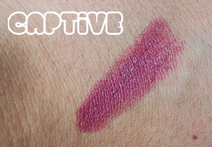 mac captive lipstick
