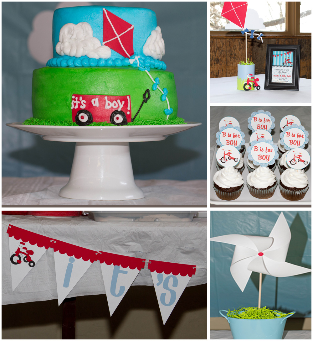 adorably shabby b is for boy an amazing baby shower on a budget