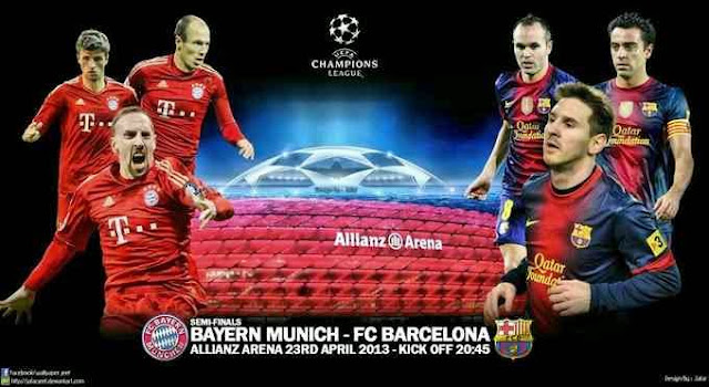 Bayern Munich-FC Barcelona