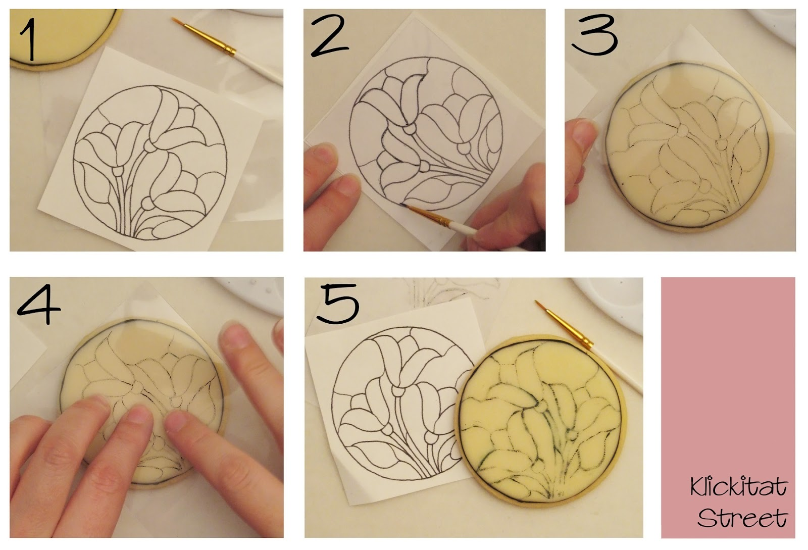 tutorial on drawing intricate designs without a KopyKake art projector