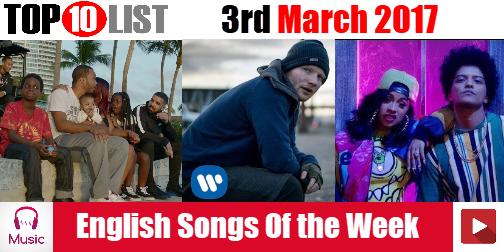 Top 10 photos of this week english song