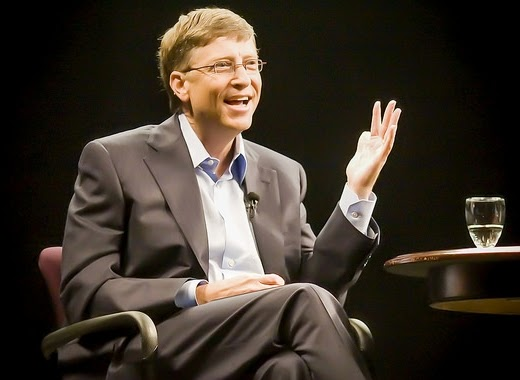 William Henry Bill Gates - www.NetterKu.com : Menulis di Internet untuk saling berbagi Ilmu Pengetahuan!