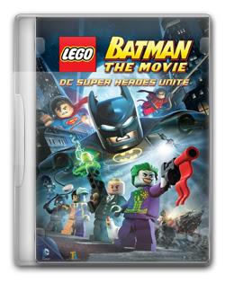 Batman LEGO: O Filme   Super Herois se Unem   DVDRip AVI Dual Áudio + RMVB Dublado