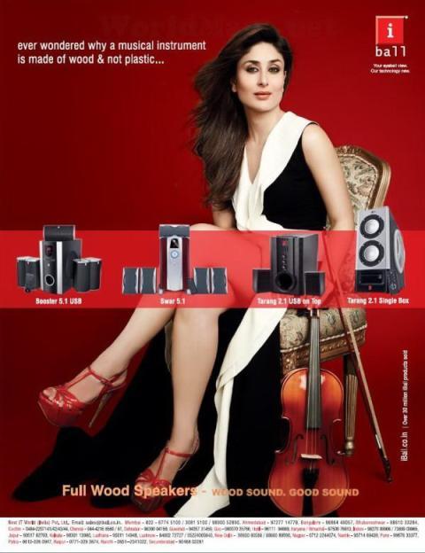 Kareena Kapoor's Latest Hot photoshoot for iBall Phone