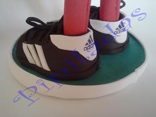 pipilada - detalle de botas de futbol