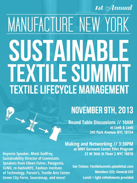 sustainability textile summit