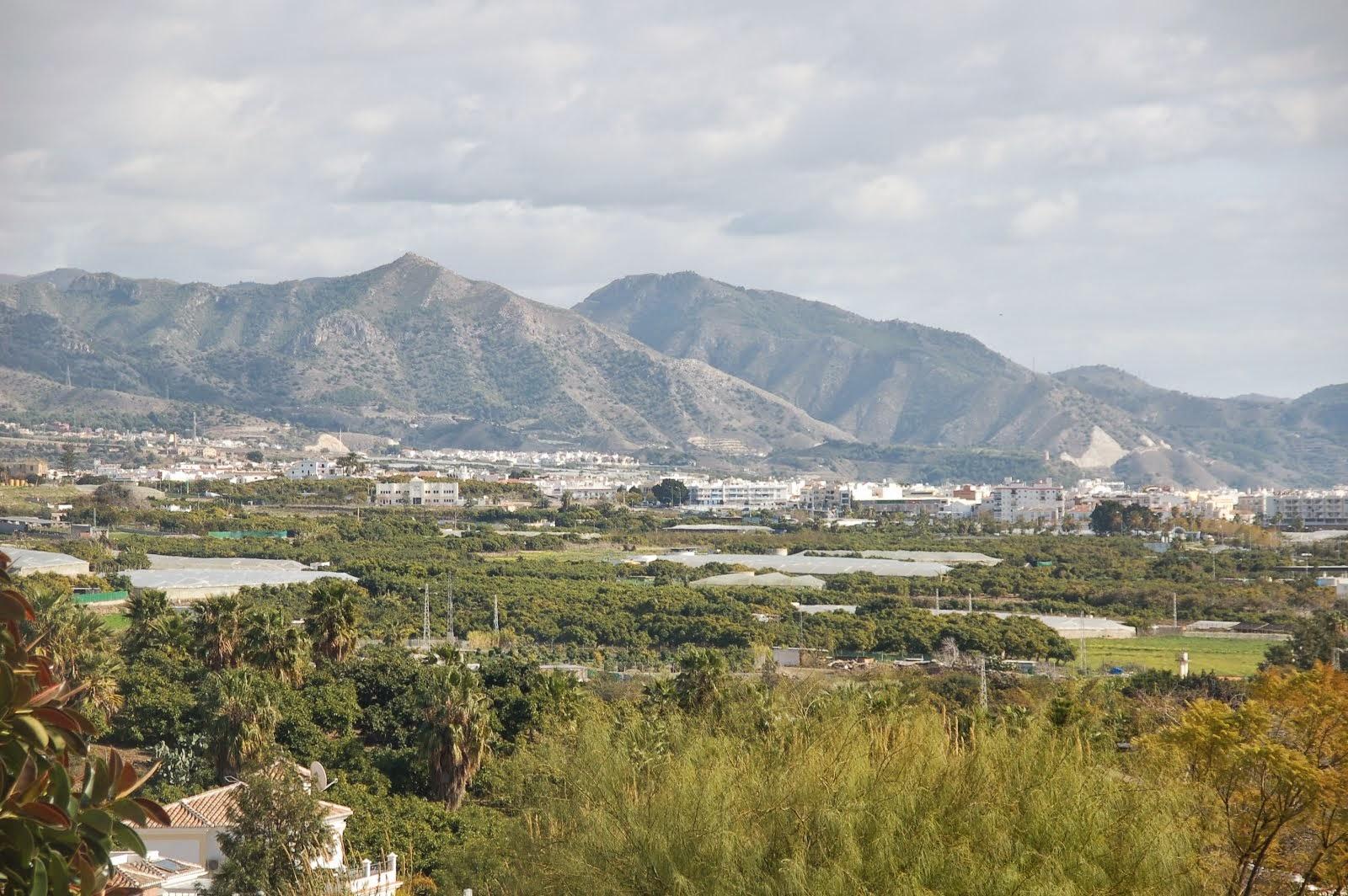 Almijarabergen skyddar Nerja och ger oss subtropiskt klimat
