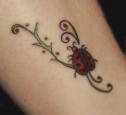 Imagens de Tatuagens de Joaninha