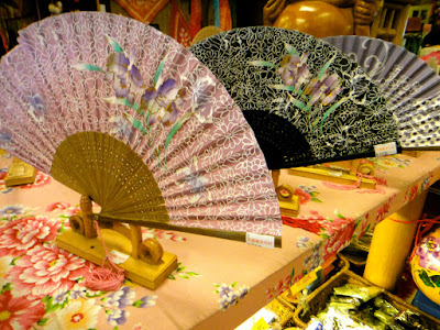 Taiwanese Paper Fan at Meinong Culture Village Kaohsiung