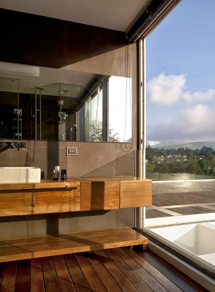 Sink in Modern dream home by Paz Arquitectura
