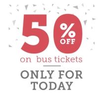 Redbus:  Get Bus Ticket Booking flat 50% off : BuyToEarn