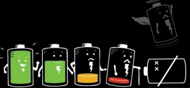 Baterai Android Tidak Awet / Cepat Habis? Ini Penyebabnya