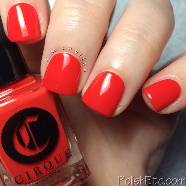 Cirque Colors - Nordstrom exclusive Poolside Collection - McPolish - Rita