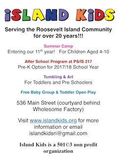 Check Out Island Kids Programs