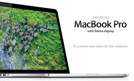 Apple's MacBook Pro with Retina Display Announced!