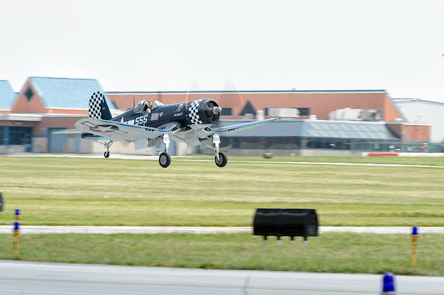 American Airpower Museum's Vought FG-1D Corsair