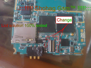 Samsung F480 Lcd Problem Solution