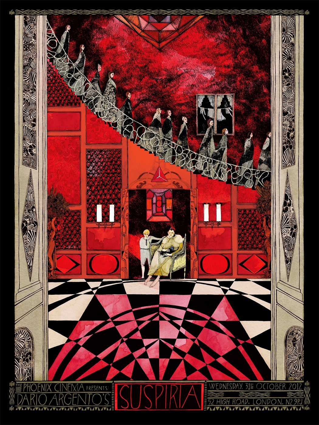 INSIDE THE ROCK POSTER FRAME BLOG: Suspiria Malleus Dario ...