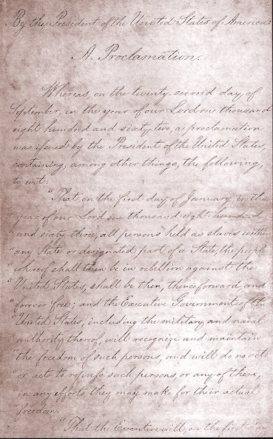 Background Of Emancipation Proclamation5