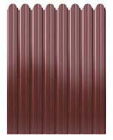 Забор из фигурного профлиста (резная кромка). Фото 17