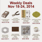 Items on Sale! Nov 18 to 24