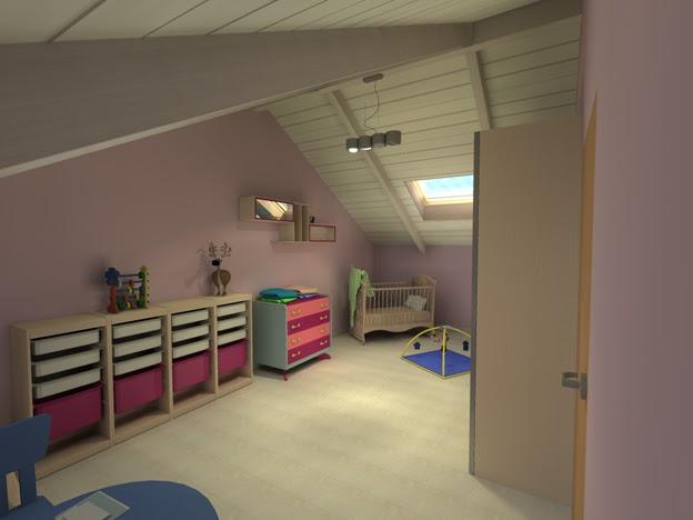 I d a 3 interior designers architects camere da for Cameretta bimba 3 anni