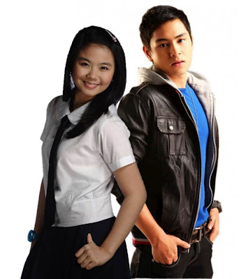 Miles Ocampo as Camille and Arvic Rivero as Bryan in Luv U