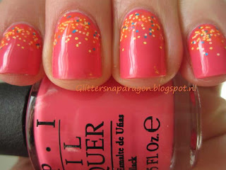 OPI Suzi's Hungary Again and Lush Lacquer Summer Lovin