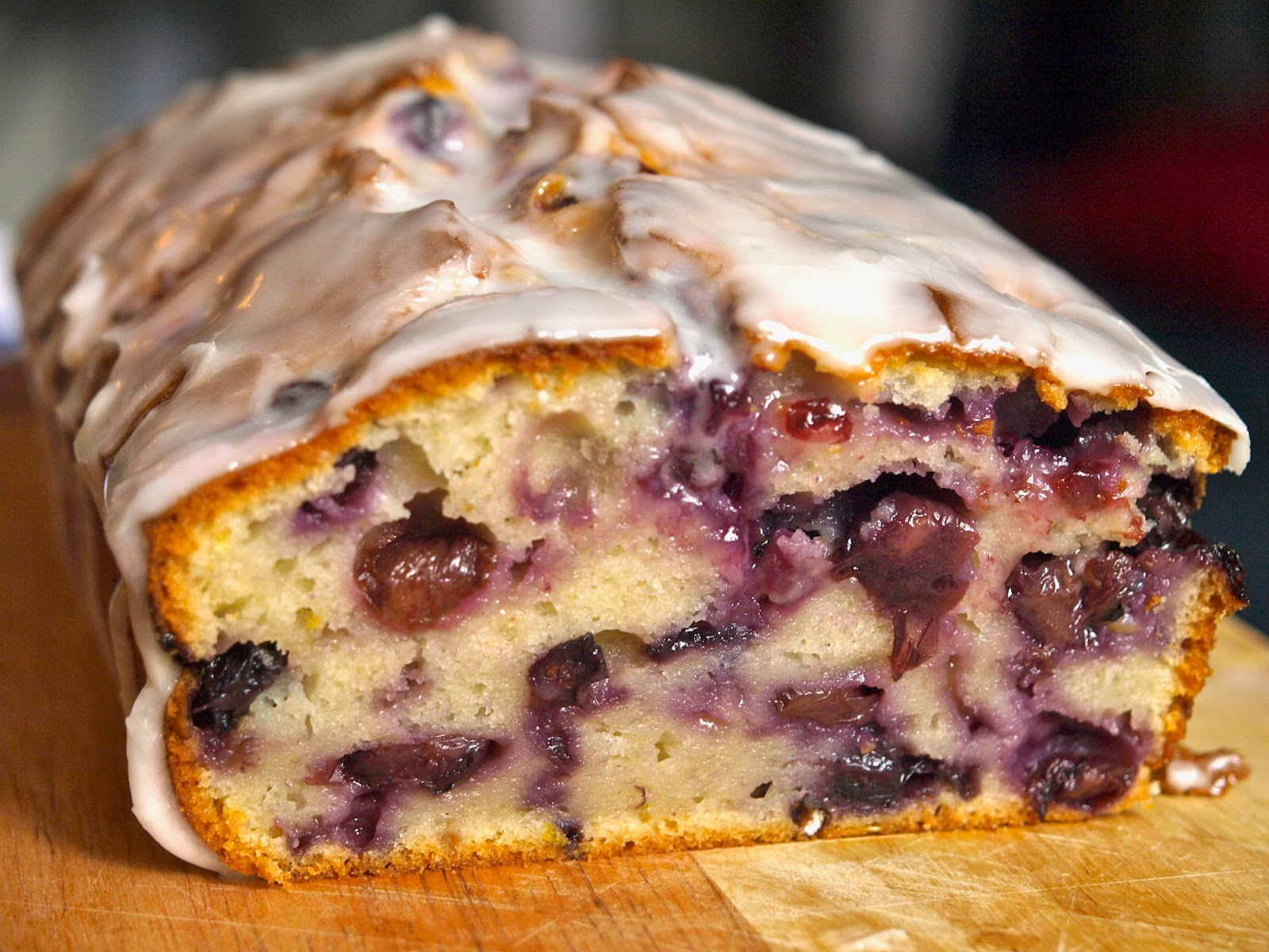 Blueberry & Lemon Yogurt Loaf - Flick of the Whisk