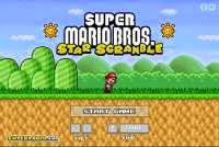 Play Game Super Mario Bros Star Scramble