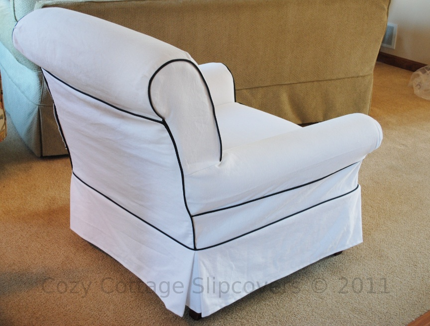 Cozy Cottage Slipcovers old Blog A Chair and a Loveseat
