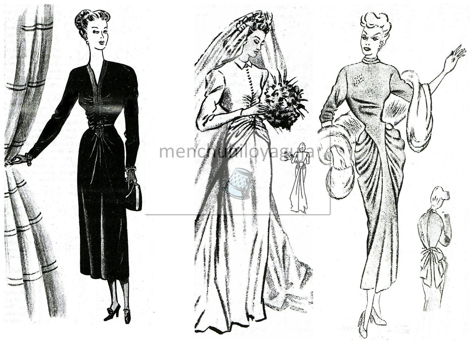 Patrones de Costura: CÓMO HACER DRAPEADOS EN VESTIDOS