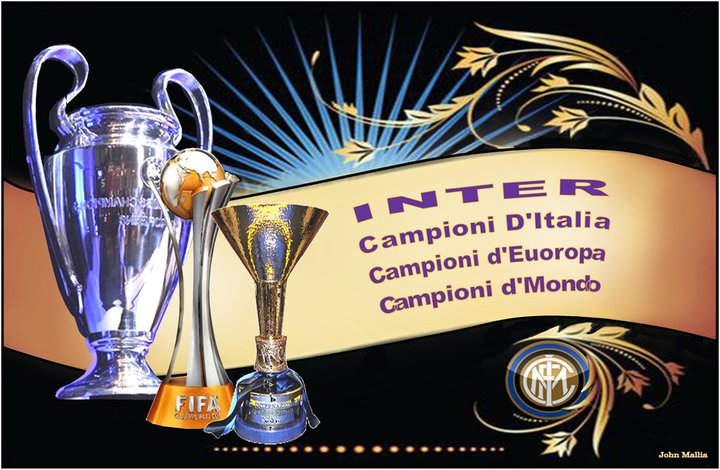 TREBLE WINNER'S INTER MILANO