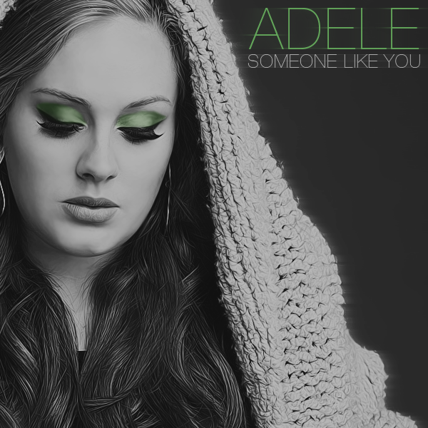 Share Adele - Someone Like You with friends