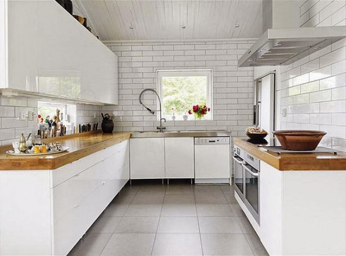 keramik dapur minimalis putih
