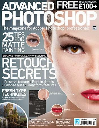 Advanced Photoshop Magazine Issue 132 2015