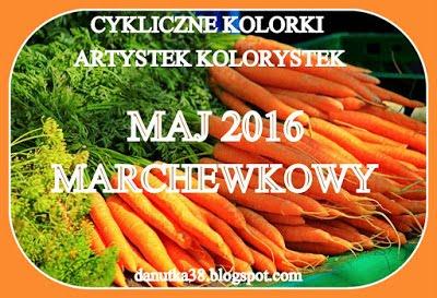 Kolorowe wyzwanie - maj