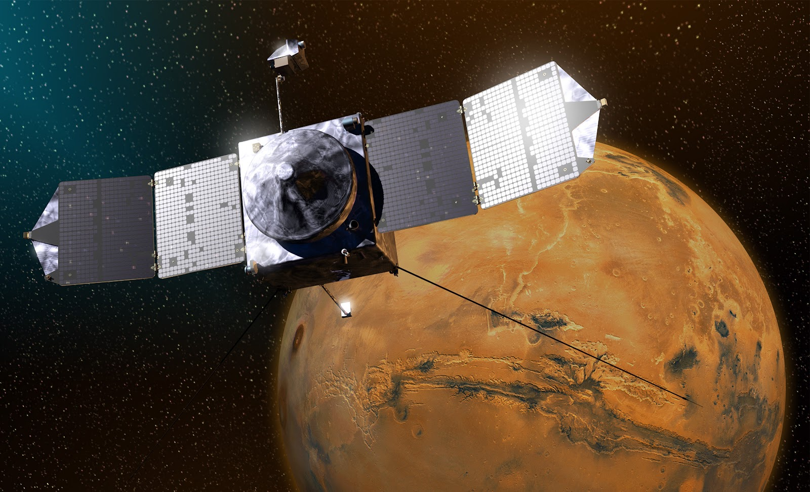 """Maven, procede """"nominal"""" il viaggio verso Marte, by NASA!"""