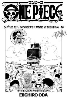 One Piece 729 Português Mangá leitura online