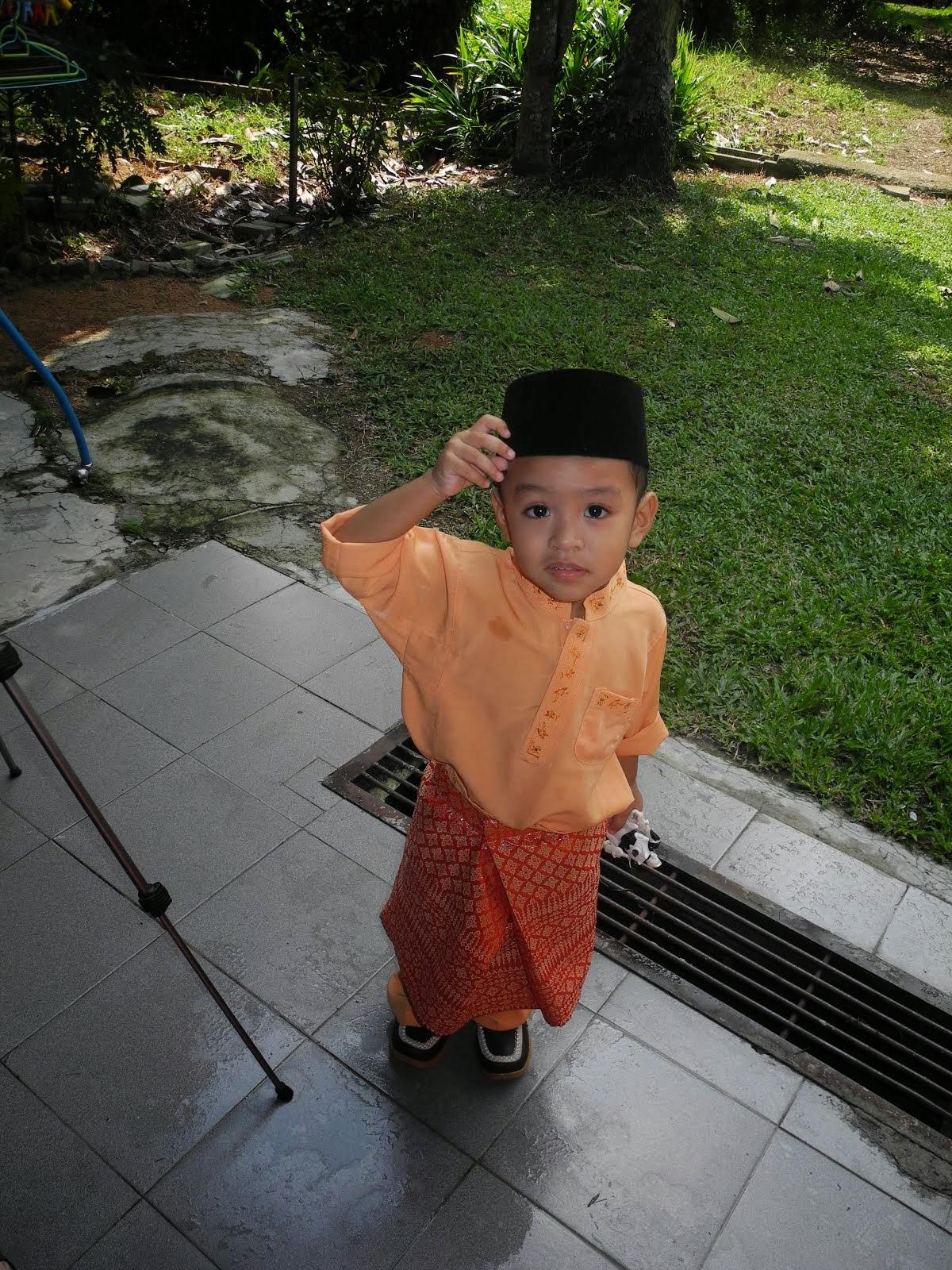 anak bujang Khair Amsyar