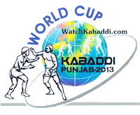 4th Kabaddi World Cup 2013 Match Schedule | Venue & Timing