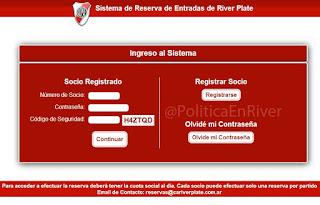 Nuevo sistema de canje de River Plate