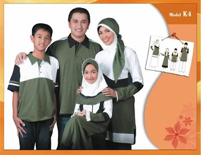 KIRGYZ SARIMBIT Koleksi Busana Muslim Keluarga Hijau