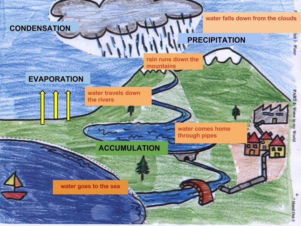 Areatza´s Kids Blog: WATER CYCLE POSTER