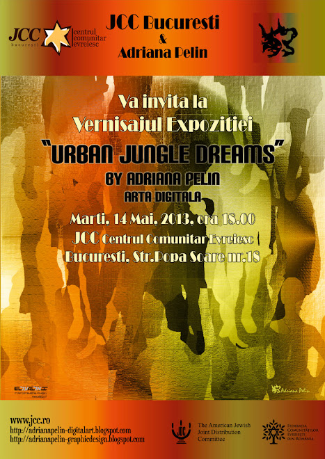 """Urban Jungle Dreams"" Digital Art Exhibition on May 14th, 2013, 17.30 hrs @JCC"