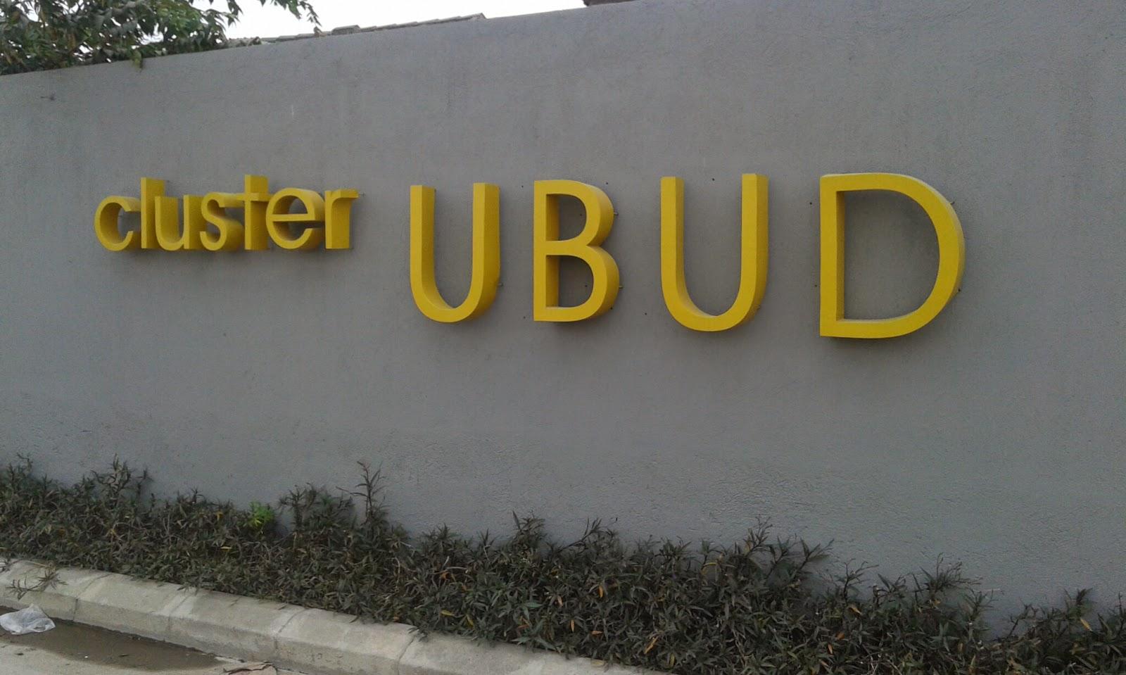 cluster ubud - cluster ubud bekasi utara - cluster ubud grand pondok ungu - jual rumah cluster ubud bekasi utara