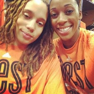 Brittney Griner & Glory Johnson